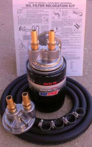 Honda/Kawasaki or ATV Remote Oil Filter/Cooler Kit