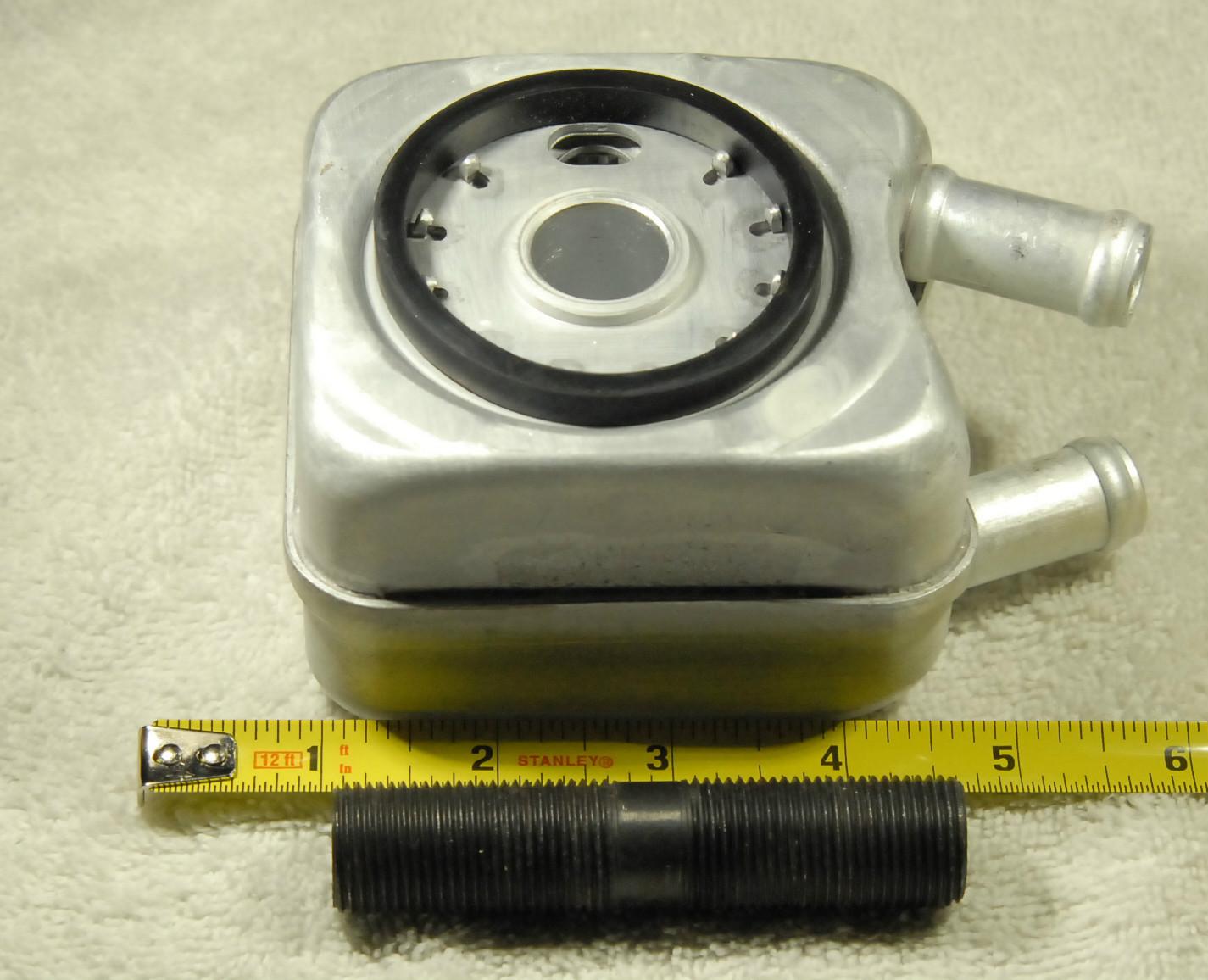 "Oil Cooler//Heater Filter Nipple~3//4/""-16 X 3 1//2/""~VW~BIO"